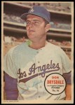 1967 Topps Poster Pin-Up Poster #16  Don Drysdale  Front Thumbnail