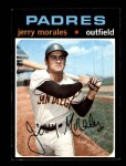 1971 Topps #696  Jerry Morales  Front Thumbnail