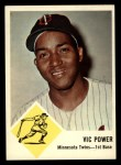 1963 Fleer #23  Vic Power  Front Thumbnail