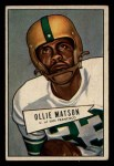 1952 Bowman Small #127  Ollie Matson  Front Thumbnail