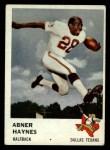 1961 Fleer #203  Abner Haynes  Front Thumbnail