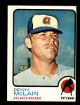 1973 Topps #630  Denny McLain  Front Thumbnail