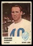 1961 Fleer #81  Howard Cassady  Front Thumbnail