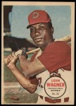 1967 Topps Poster Pin-Up Poster #24  Leon Wagner  Front Thumbnail