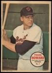1967 Topps Poster Pin-Up Poster #7  Frank Howard  Front Thumbnail