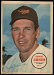 1967 Topps Poster Pin-Up Poster #3  Brooks Robinson  Front Thumbnail