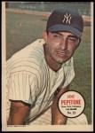 1967 Topps Poster Pin-Up Poster #22  Joe Pepitone  Front Thumbnail