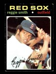 1971 Topps #305  Reggie Smith  Front Thumbnail