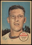 1967 Topps Poster Pin-Up Poster #17  Bobby Knoop  Front Thumbnail