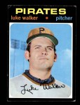 1971 Topps #534  Luke Walker  Front Thumbnail