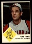 1963 Fleer #33  Gene Freese  Front Thumbnail