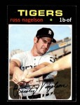 1971 Topps #708  Russ Nagelson  Front Thumbnail
