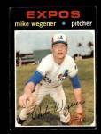 1971 Topps #608  Mike Wegener  Front Thumbnail