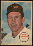 1967 Topps Poster Pin-Up Poster Inserts #3  Brooks Robinson  Front Thumbnail