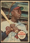 1967 Topps Poster Pin-Up Poster Inserts #15  Hank Aaron  Front Thumbnail