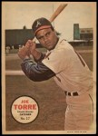 1967 Topps Poster Pin-Up Poster #27  Joe Torre  Front Thumbnail