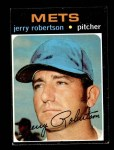 1971 Topps #651  Jerry Robertson  Front Thumbnail