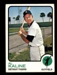 1973 Topps #280  Al Kaline  Front Thumbnail