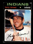 1971 Topps #539  Larry Brown  Front Thumbnail