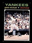 1971 Topps #483  Gene Michael  Front Thumbnail