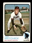 1973 Topps #631  Tom Matchick  Front Thumbnail
