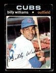1971 Topps #350  Billy Williams  Front Thumbnail