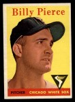 1958 Topps #50 YT Bill Pierce  Front Thumbnail