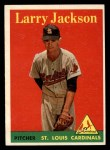1958 Topps #97 YN Larry Jackson  Front Thumbnail