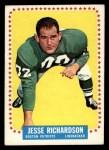 1964 Topps #18  Jesse Richardson  Front Thumbnail