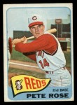 1965 Topps #207  Pete Rose  Front Thumbnail