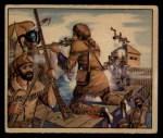 1949 Bowman Wild West #8 C Daniel Boone  Front Thumbnail