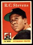 1958 Topps #470  R.C. Stevens  Front Thumbnail