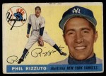 1955 Topps #189  Phil Rizzuto  Front Thumbnail