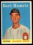 1958 Topps #336  Bert Hamric  Front Thumbnail