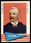 1961 Fleer #4  Cap Anson  Front Thumbnail