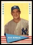 1961 Fleer #69  Allie Reynolds  Front Thumbnail