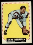 1964 Topps #24  Dave Behrman  Front Thumbnail