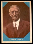 1960 Fleer #14  Connie Mack  Front Thumbnail