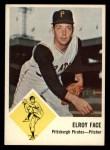 1963 Fleer #57  Roy Face  Front Thumbnail