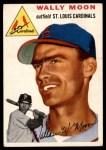 1954 Topps #137  Wally Moon  Front Thumbnail