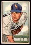 1952 Bowman #221  Lou Kretlow  Front Thumbnail
