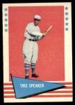 1961 Fleer #79  Tris Speaker  Front Thumbnail