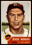 1953 Topps #232  Dick Kokos  Front Thumbnail