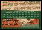 1954 Topps #206  Ray Crone  Back Thumbnail