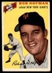 1954 Topps #99  Bobby Hofman  Front Thumbnail
