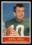 1964 Philadelphia #134  King Hill  Front Thumbnail