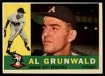 1960 Topps #427  Al Grunwald  Front Thumbnail