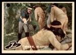 1958 Topps Zorro #50   Work Slave Front Thumbnail