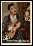 1958 Topps Zorro #78   Diego The Troubador Front Thumbnail
