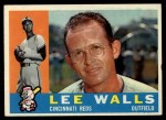 1960 Topps #506  Lee Walls  Front Thumbnail